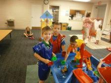 Water fun in the Big Room
